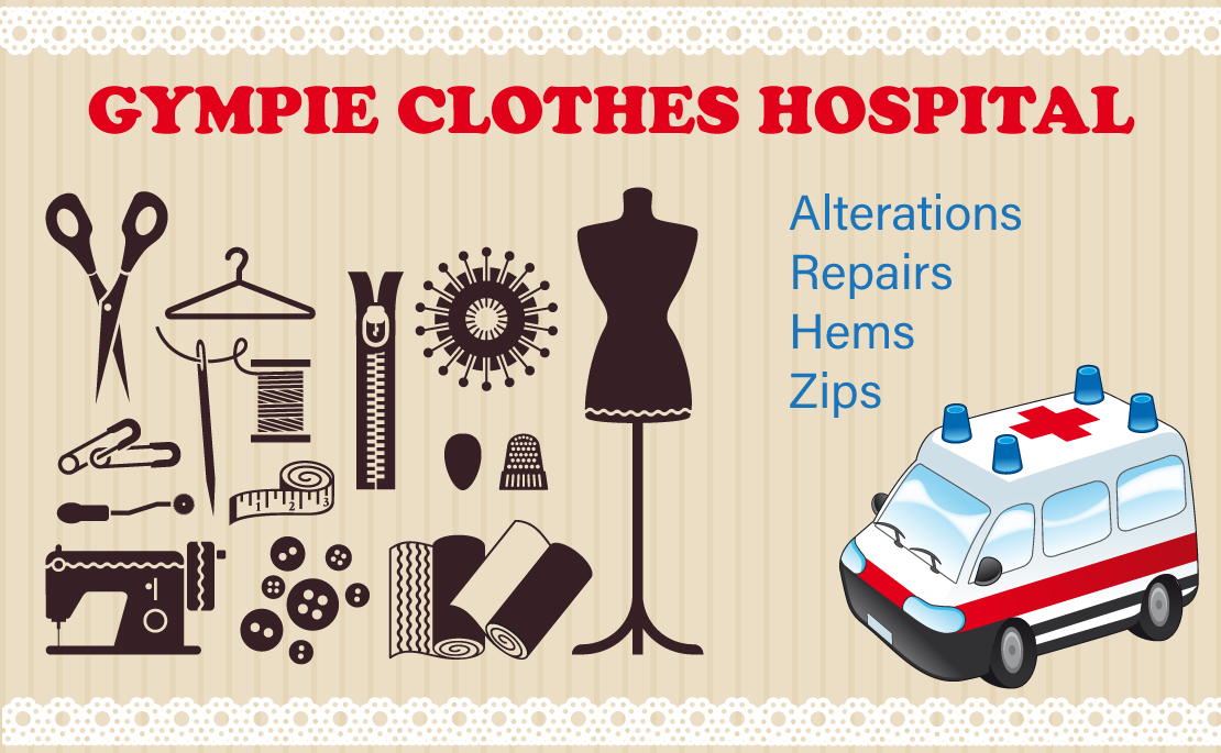 Sewing alterations and repairs